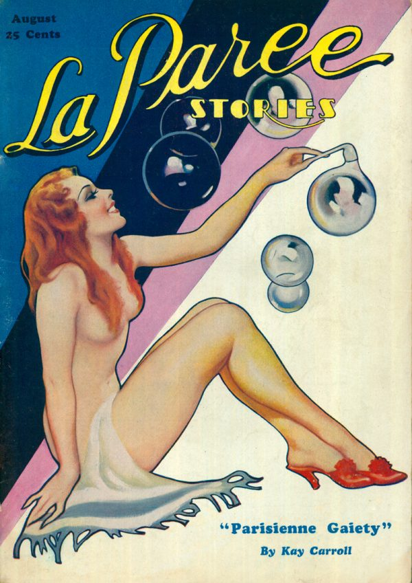 La Paree Stories, August 1933