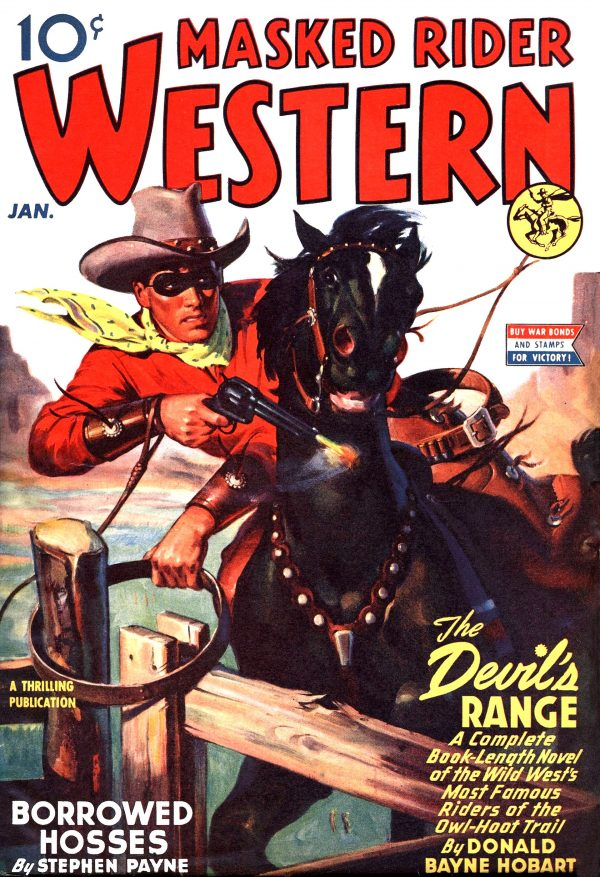 Masked Rider Western January 1944