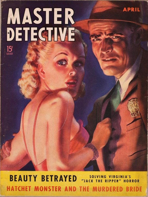 Master Detective April 1940