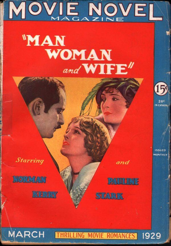 Movie Novel Magazine, March 1929