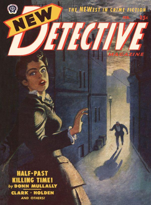 New Detective Magazine February 1952