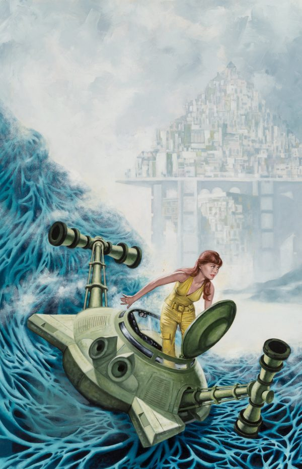Ordeal in Otherwhere paperback cover, 1973