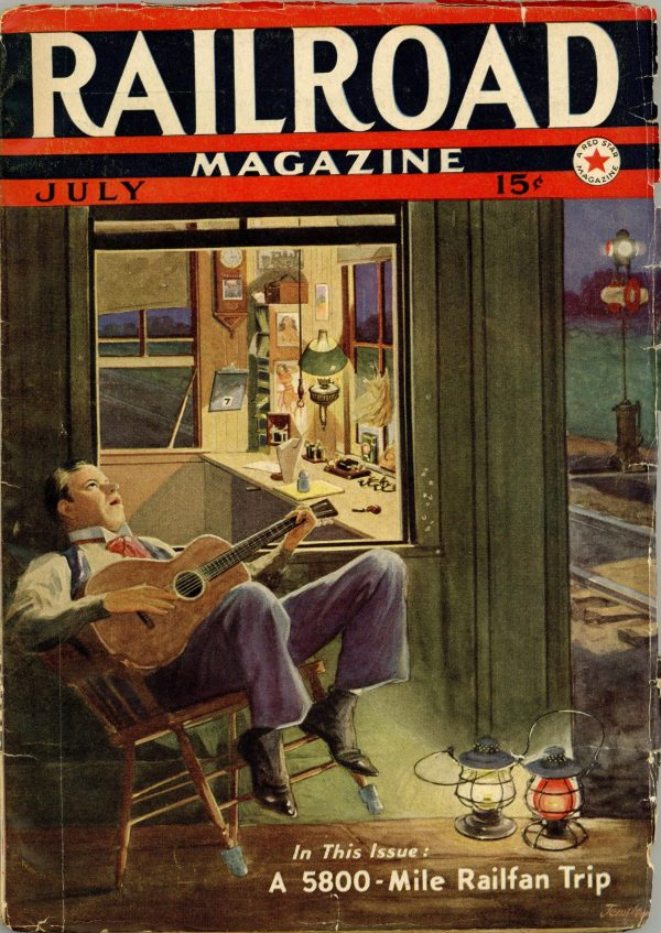 Railroad Magazine July 1938