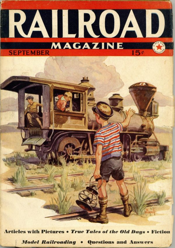 Railroad Magazine September 1938