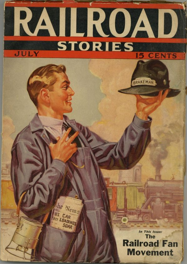 Railroad Stories July 1937