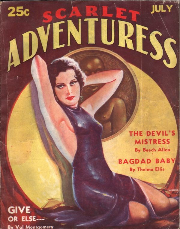 Scarlet Adventuress July 1935