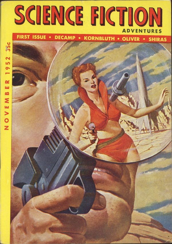 Science Fiction Adventures Nov 1952