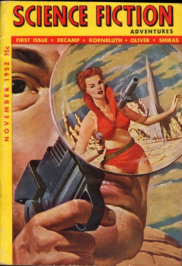 Science Fiction Adventures November 1952