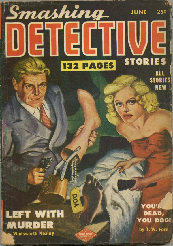 Smashing Detective Stories June 1951