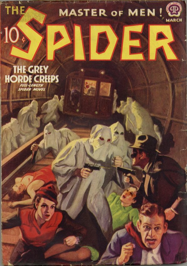 Spider March 1938