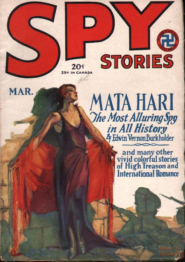 Spy Stories March 1929