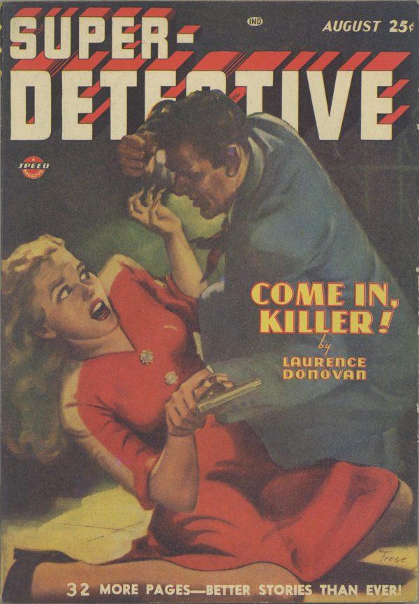 Super-Detective August 1947