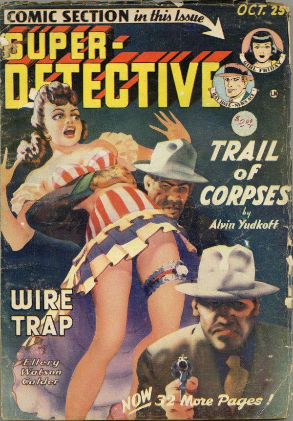 Super-Detective October 1949