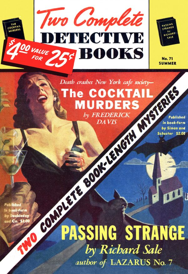 Two Complete Detective Books-1952-Summer