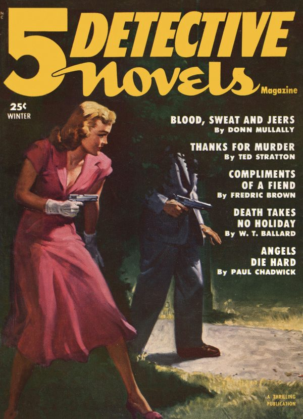 5 Detective Novels - 1952 -Winter