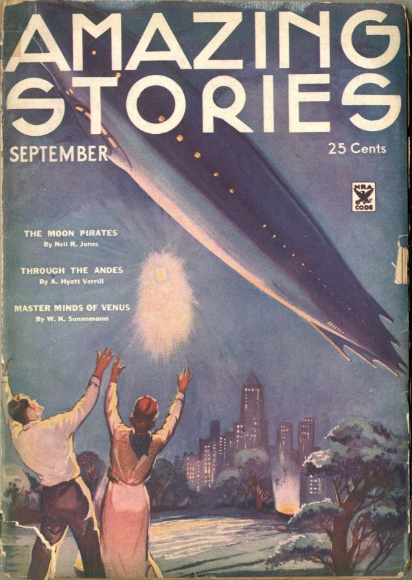 Amazing Stories September 1934