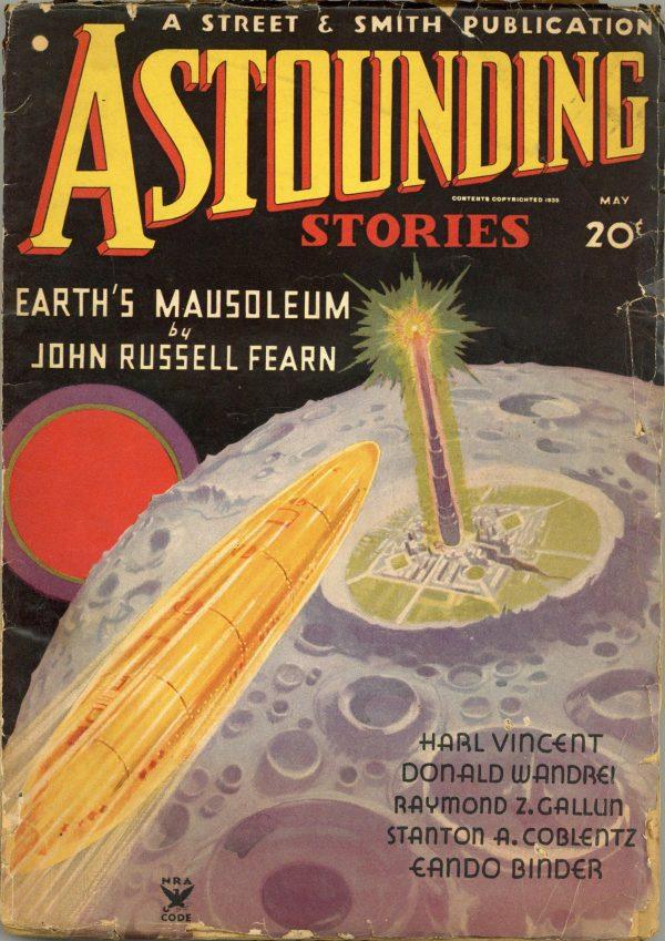 Astounding Stories May 1935