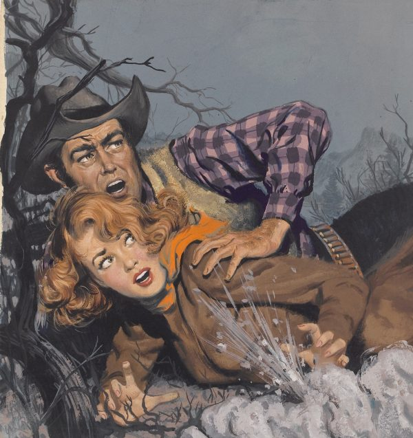 Canyon Passage, paperback cover, 1945