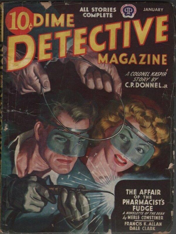 Dime Detective 1944 January