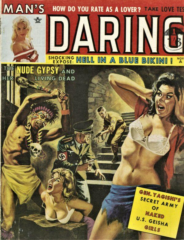 Man's Daring Magazine November 1962