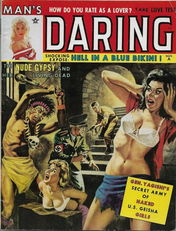 Man's Daring November 1962