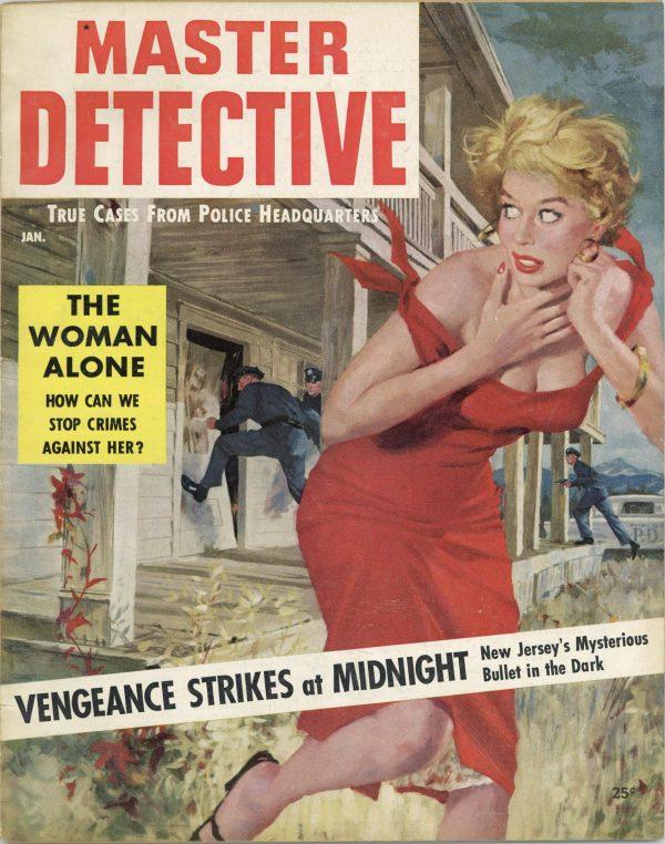 Master Detective January 1956