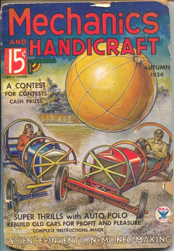 Mechanics And Handicraft Issue #3 Fall 1934