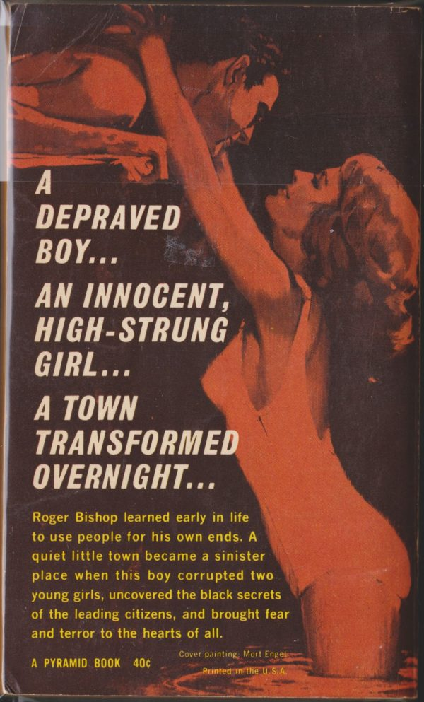 Pyramid Books F-938, 1963 back