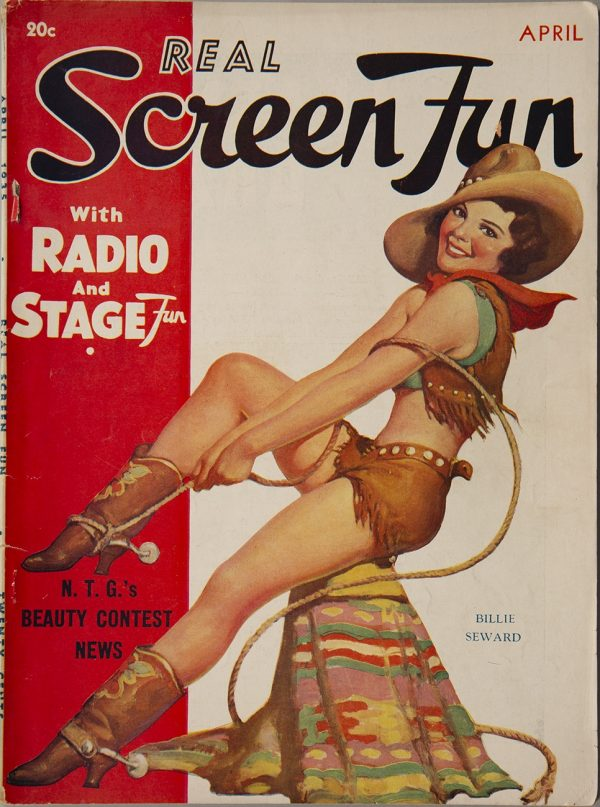 Real Screen Fun April 1935