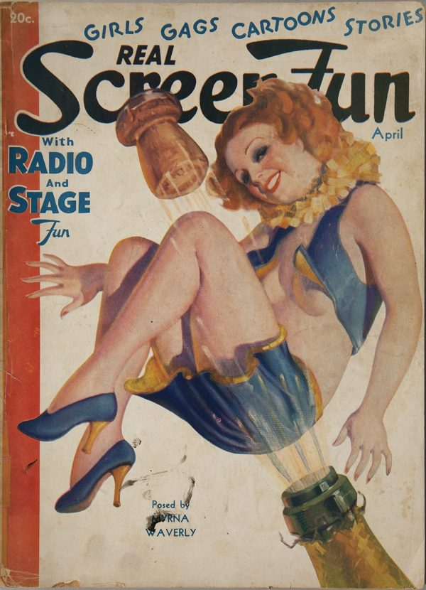 Real Screen Fun April 1936