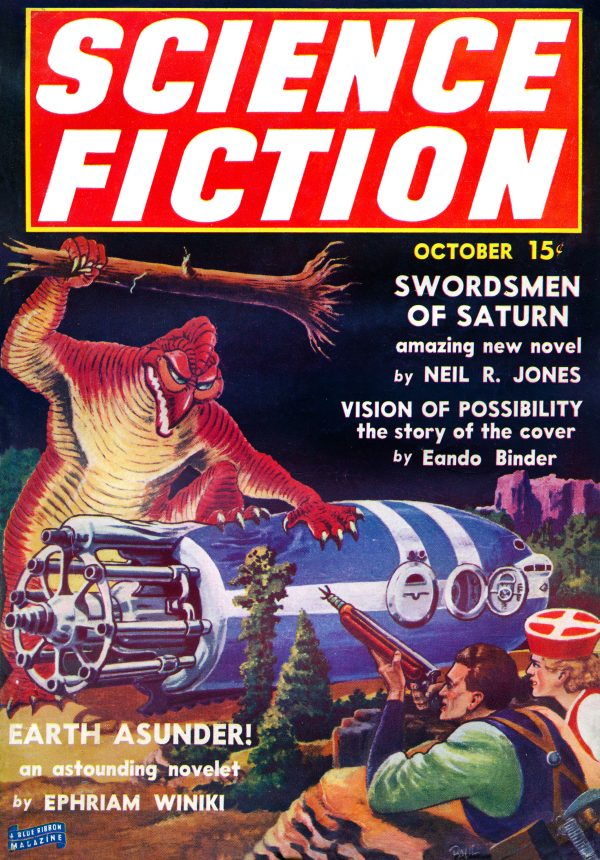 Science Fiction, October 1939
