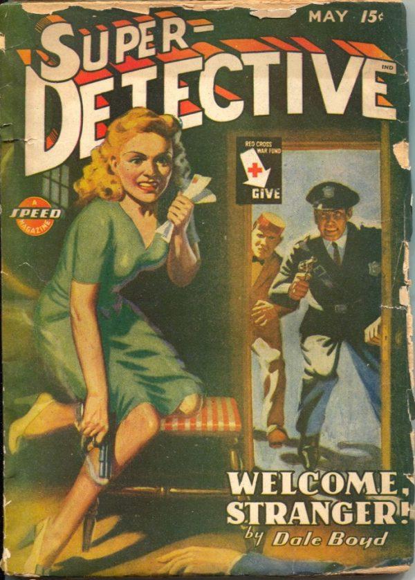 Super-Detective May 1945