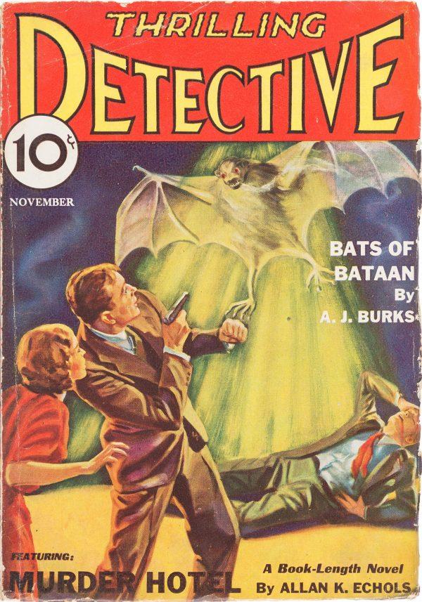 Thrilling Detective, November 1932