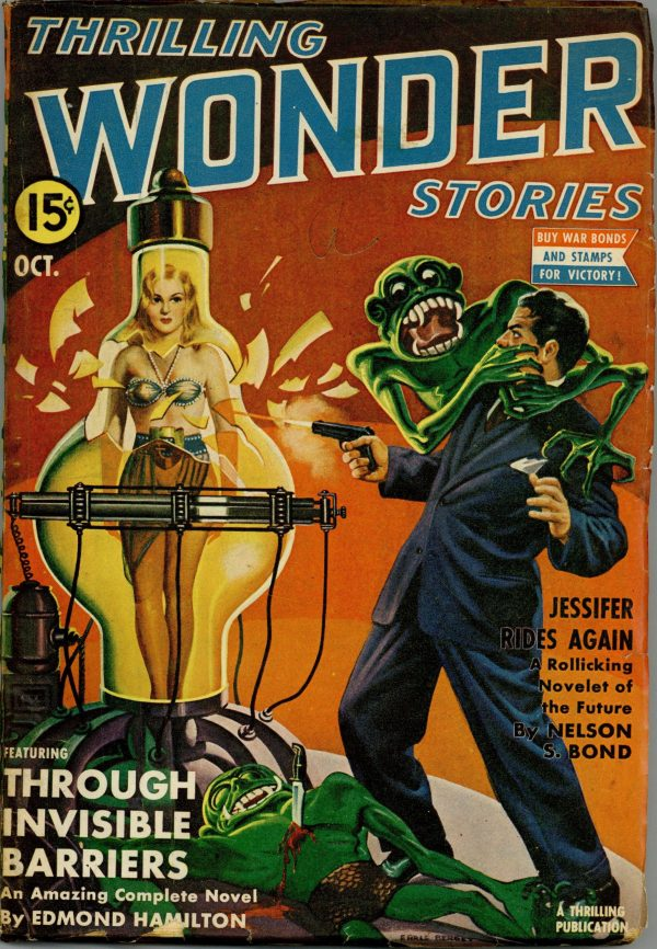 Thrilling Wonder Stories, October 1942