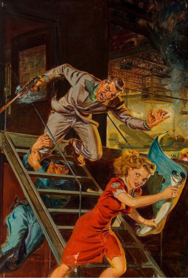 10 Story Detective cover, November 1942