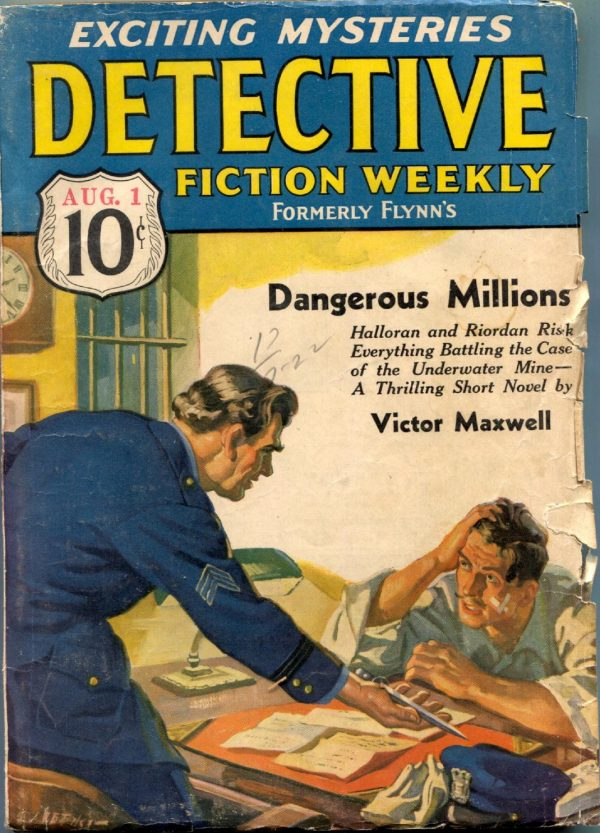 Detective Fiction Weekly August 10 1936