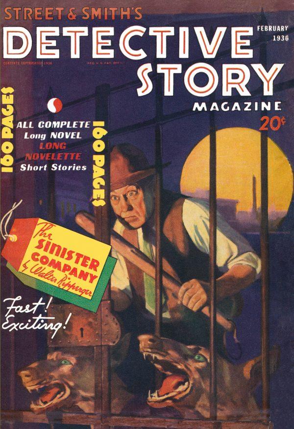 Detective Story February 1936