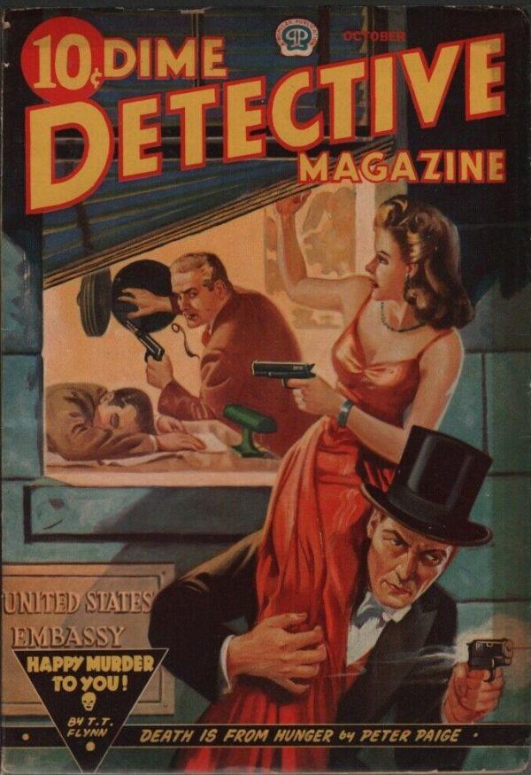Dime Detective 1942 October
