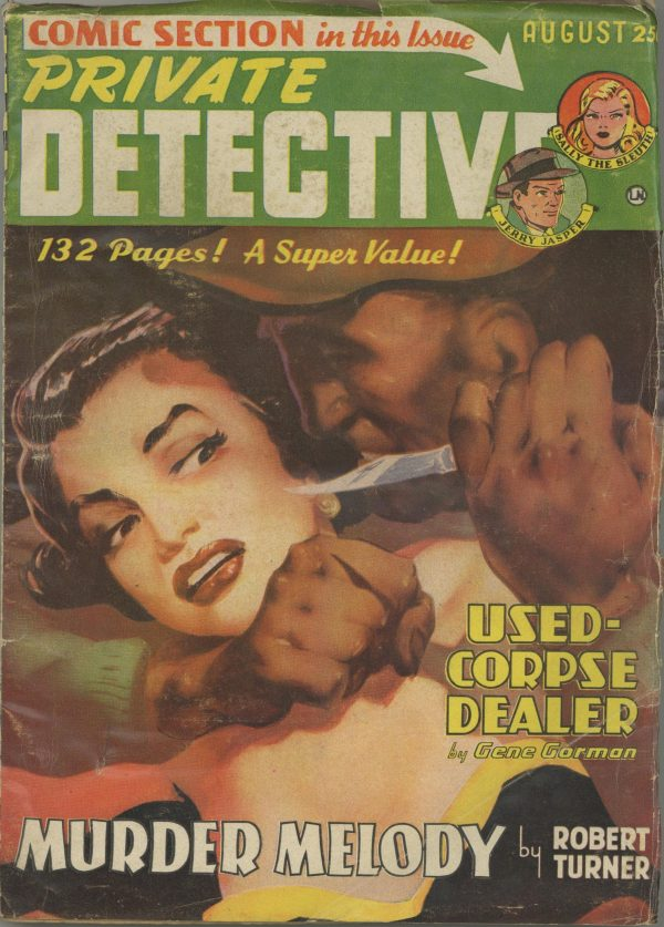 Private Detective August 1950