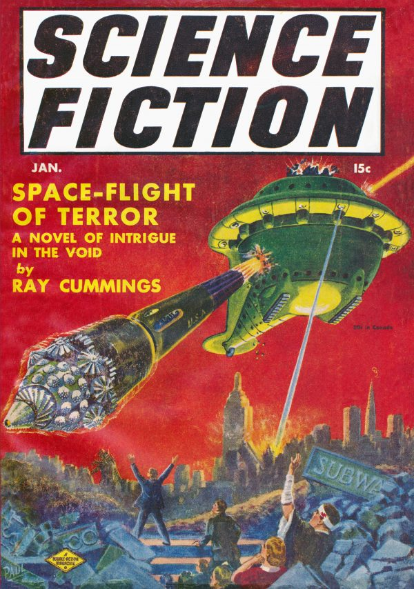 ScienceFiction January 1941