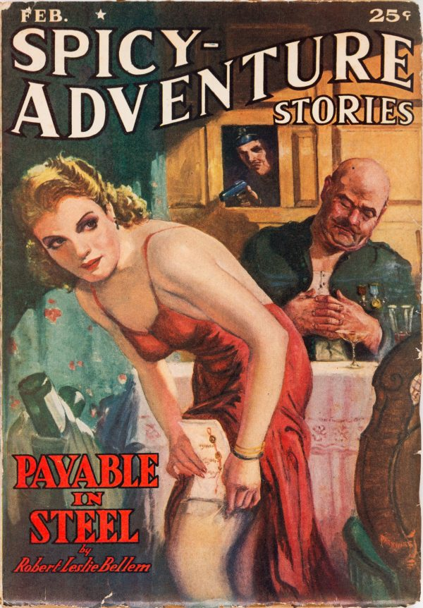Spicy Adventure Stories February 1940