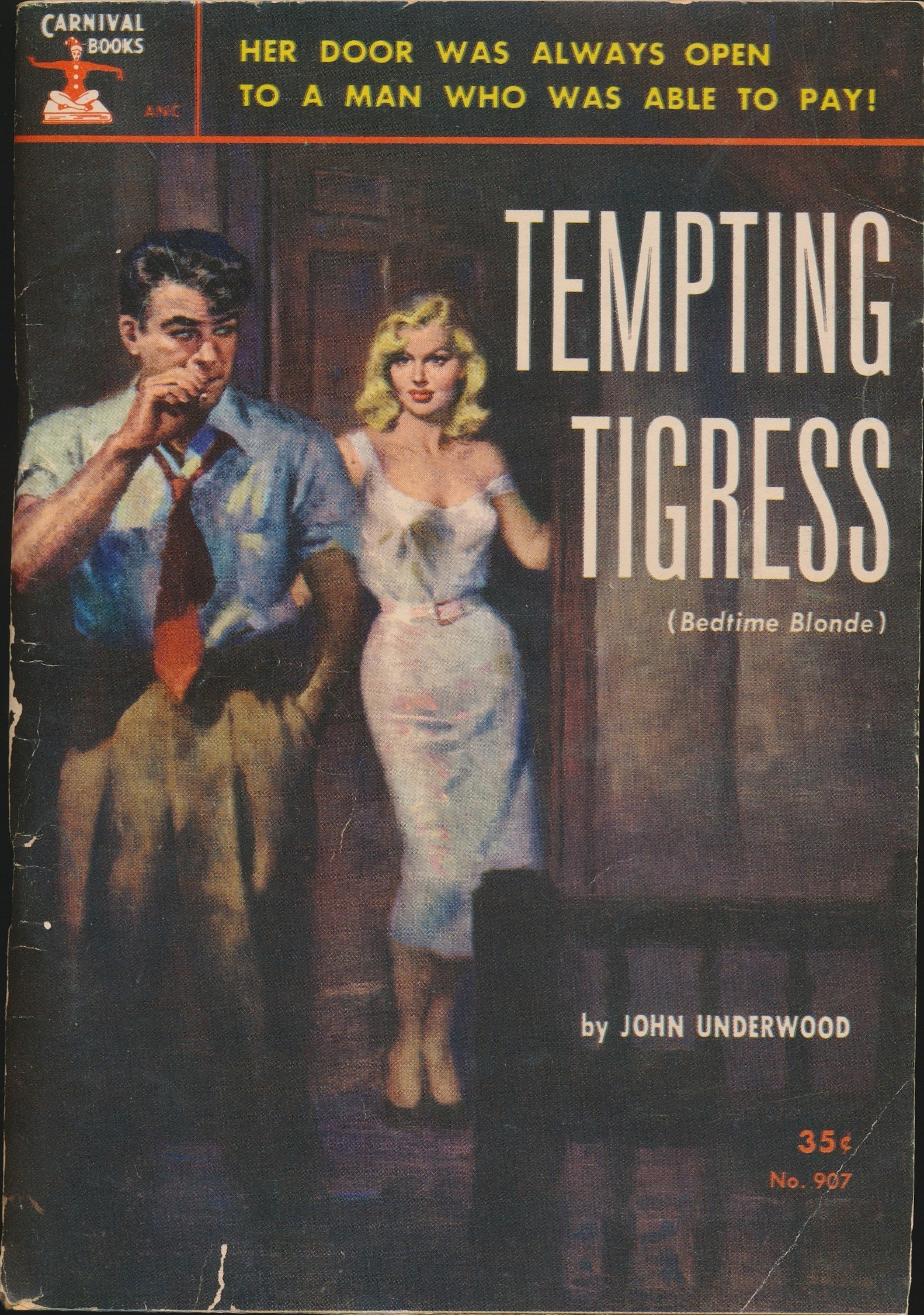 Tempting Tigress, Carnival Books #907, 1953