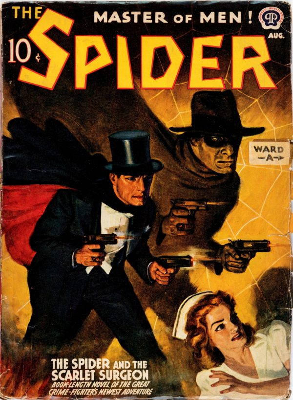 The Spider - August 1941