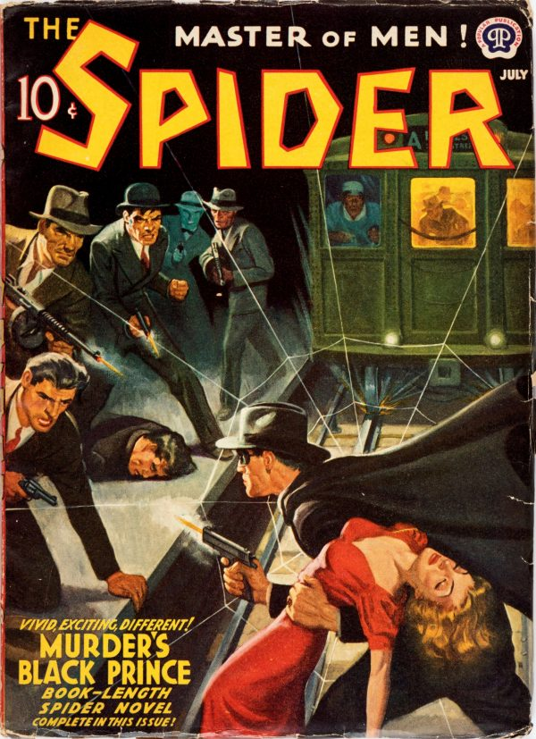 The Spider - July 1941