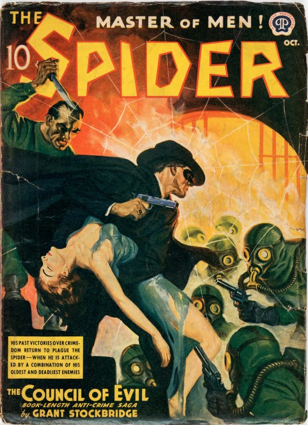 The Spider - October 1940