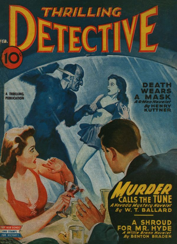 Thrilling Detective February 1945