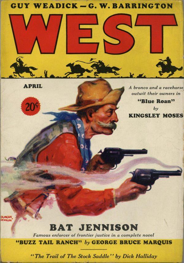 West April 1933
