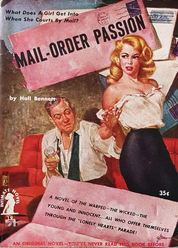 49520283293-mail-order-passion-intimate-novel-no-19-hall-bennett-1952