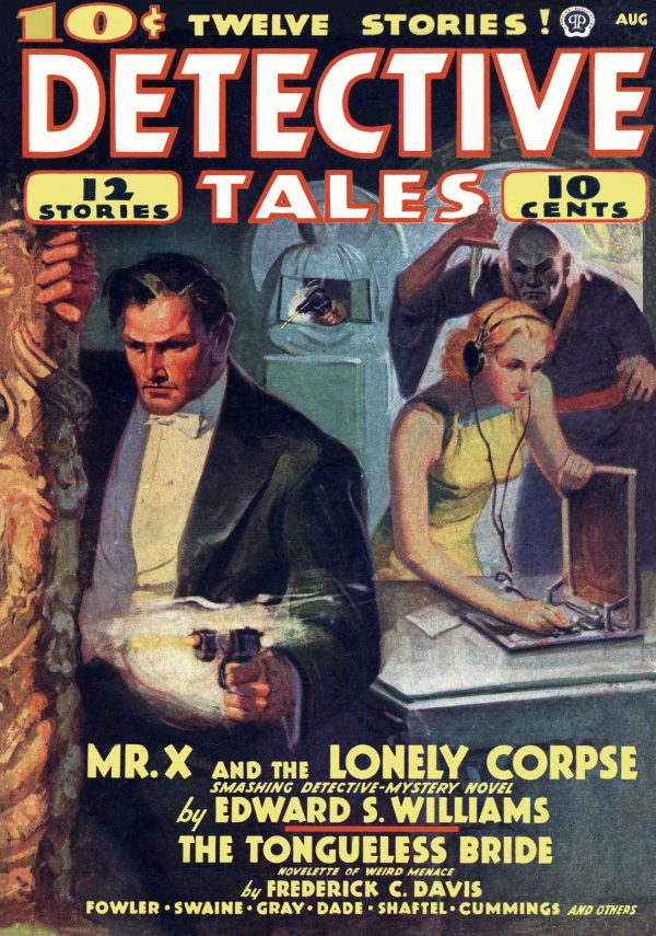 Detective Tales August 1938