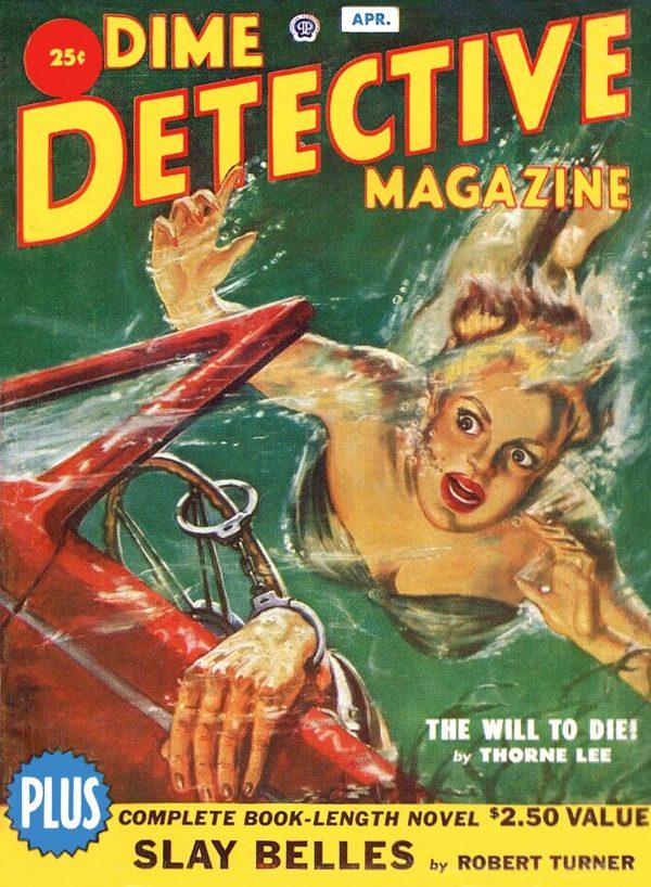 Dime Detective - April 1951